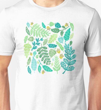LEAFY GREENS Unisex T-Shirt