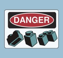 Danger Bricks Sign Baby Tee