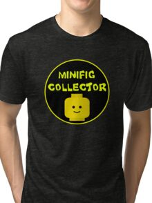 MINIFIG COLLECTOR Tri-blend T-Shirt
