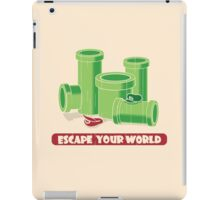 Escape your world iPad Case/Skin