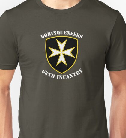 Borinqueneers - 65th Infantry Unisex T-Shirt