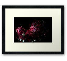 Exploding Red Dwarf Framed Print