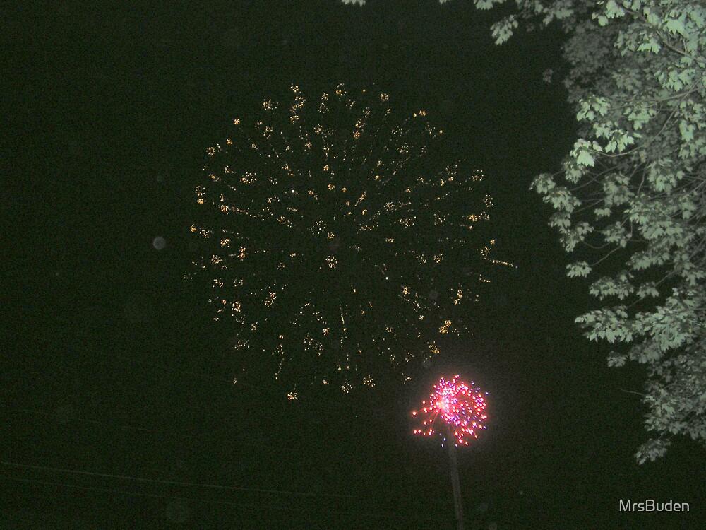 Fireworks by MrsBuden