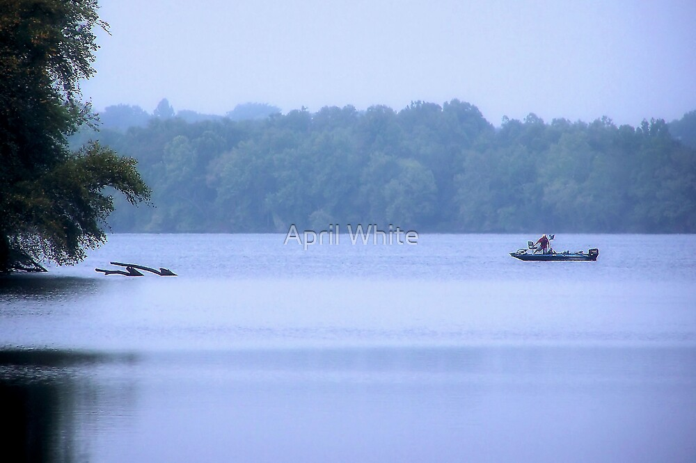 Misty Morning Fishing by xPressiveImages