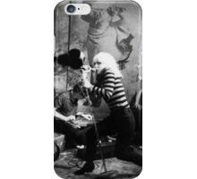 Blondie.Black transparent design. iPhone Case/Skin