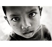 Street Eyes Photographic Print