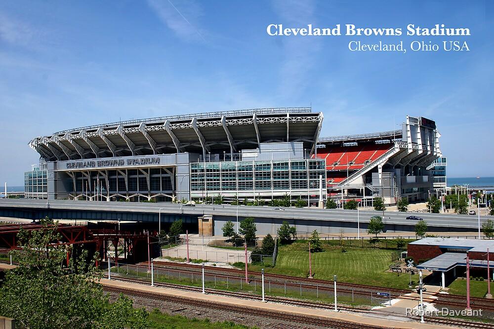 Cleveland Browns Stadium by Robert Daveant