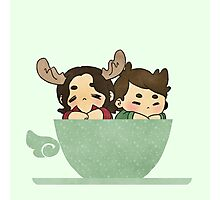 Winchesters in a cup Photographic Print