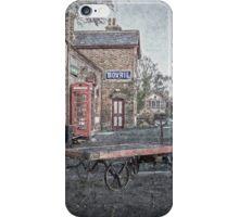 Vintage Hadlow Road in Oils iPhone Case/Skin