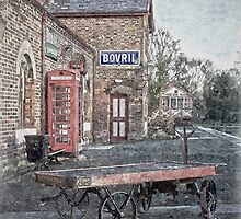 Vintage Hadlow Road in Oils by DavidWHughes