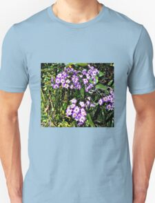 Lilac Daisies in Springtime T-Shirt
