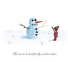 Snowman - Destiny is Child by dave  gregory