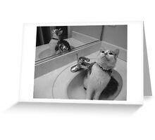 Bath time! Greeting Card