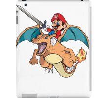 Mario x Charizard iPad Case/Skin