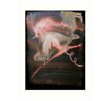 Telegraph Wind - 0007 - Ragged Wings Art Print