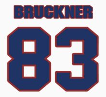 National football player Nick Bruckner jersey 83 by imsport