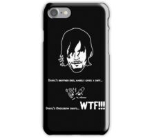 Daryl Dixon's love for his Crossbow iPhone Case/Skin