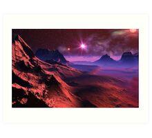 Red Dwarf. Art Print