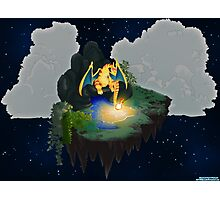 Charizard-Two Lonely Island Photographic Print