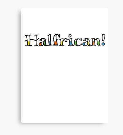 Halfrican! Metal Print