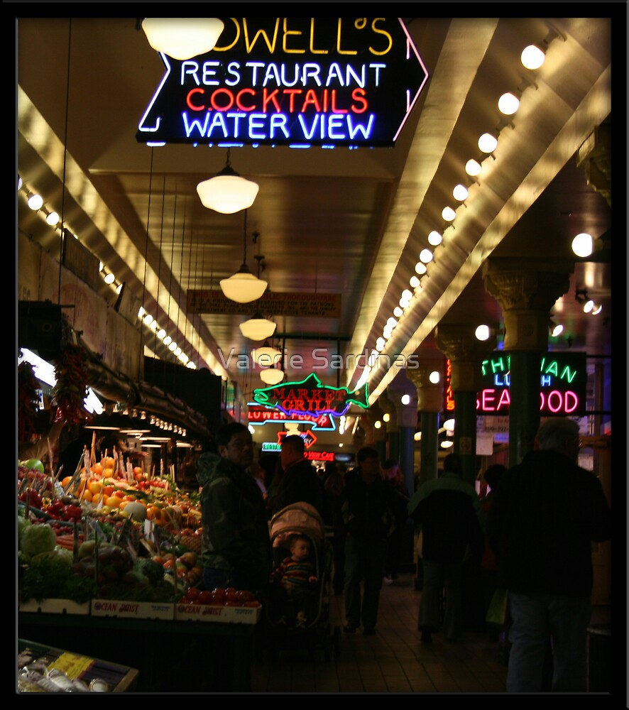 Time to buy some good food by Valerie Sardinas