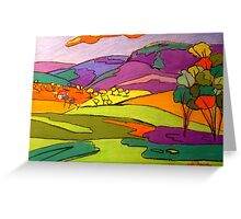 Numinbah Valley View Greeting Card