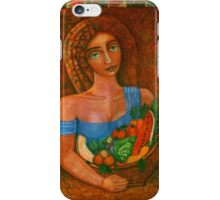 Flora - Goddess of the Seeds  iPhone Case/Skin