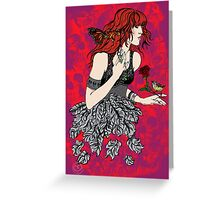 'Once upon a time there was Florence' (2) Greeting Card