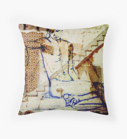 Olympic Displacement Throw Pillow