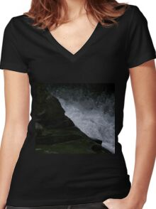Great Divide Women's Fitted V-Neck T-Shirt