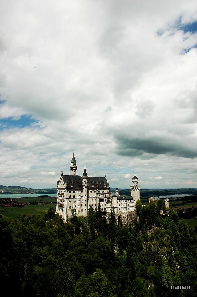 Neuschwanstein Castle by naman