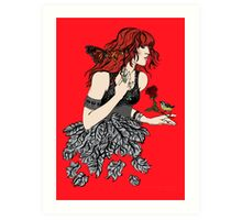 Once upon a time there was Florence Art Print