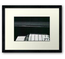 car noir  Framed Print