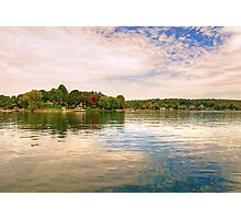 CANDLEWOOD LAKE Photographic Print