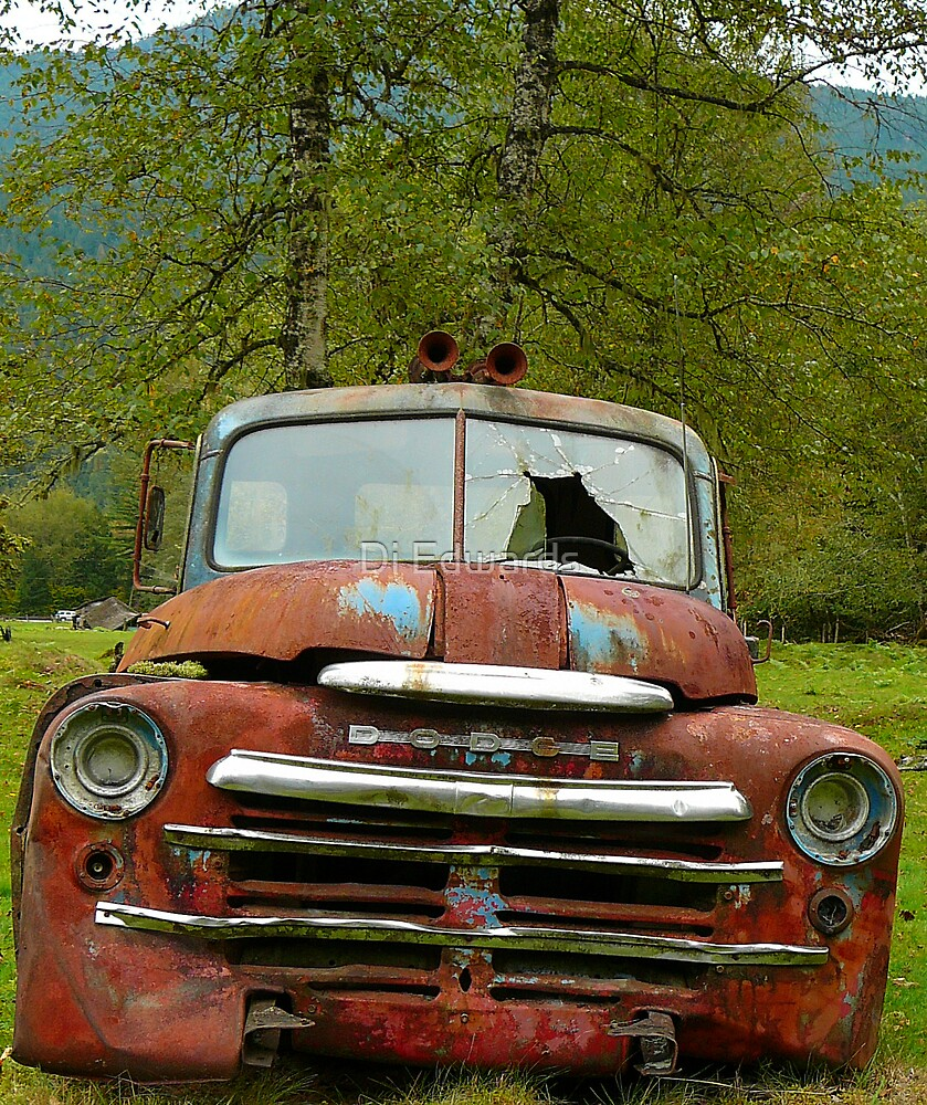 Yup, I'm a Dodge by Di Edwards