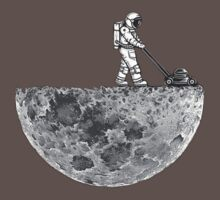 Man And The Moon One Piece - Short Sleeve