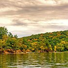 Candlewood Lake On a Cloudy Day by imagetj