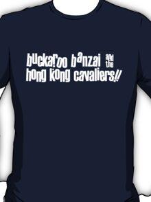 Buckaroo Banzai & the Hong Kong Cavaliers T-Shirt
