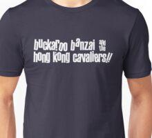 Buckaroo Banzai & the Hong Kong Cavaliers Unisex T-Shirt