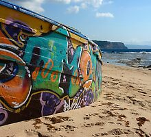 on the beach by dominiquelandau