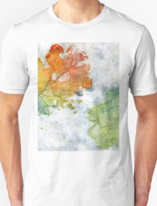Colorful Oak Leaves 2 Unisex T-Shirt