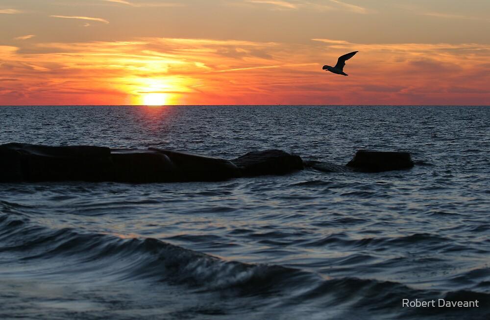 Lake Erie Sunset by Robert Daveant