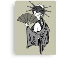 Vecta Geisha 6 Canvas Print