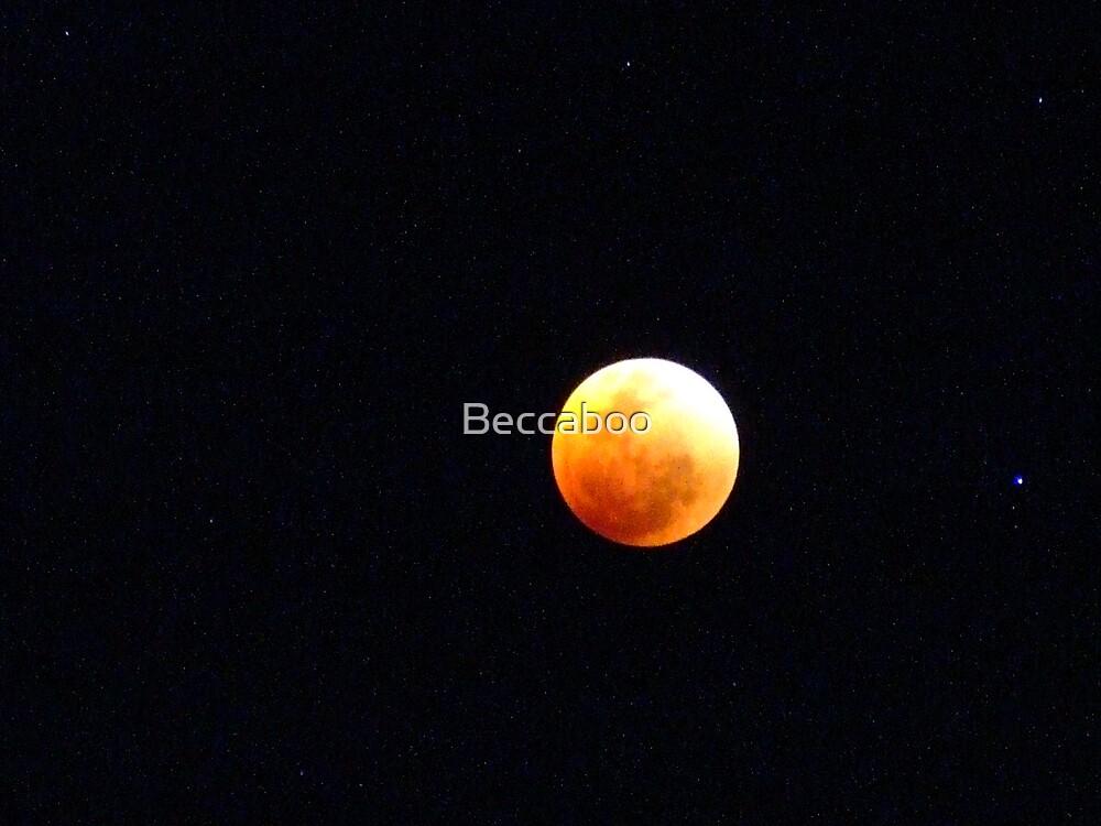 Lunar Eclipse by Beccaboo