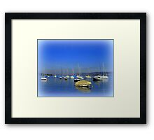 The Lake of Zurich Framed Print