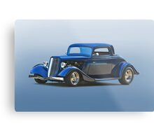 1934 Ford '3 Window' Coupe Metal Print