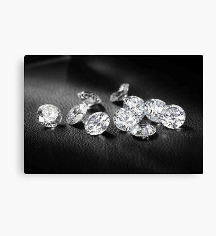 Diamonds BABY Canvas Print