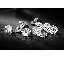 Diamonds BABY Photographic Print