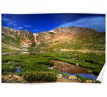 Summit Lake Poster