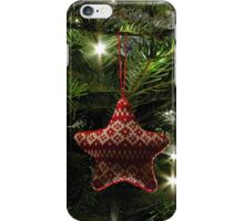 Knitted star iPhone Case/Skin